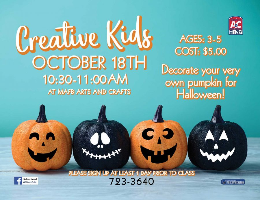 October Creative Kids Class