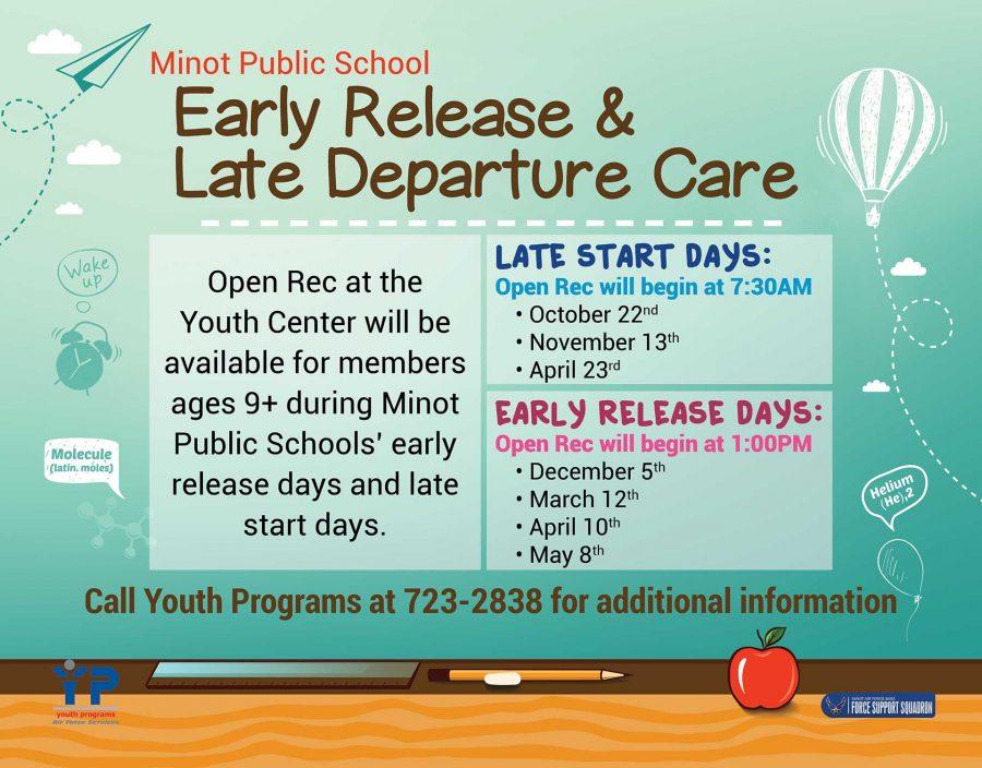 Minot Public School - Early Release Day