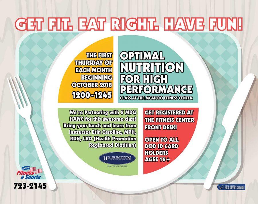 High Performance Nutrition Class