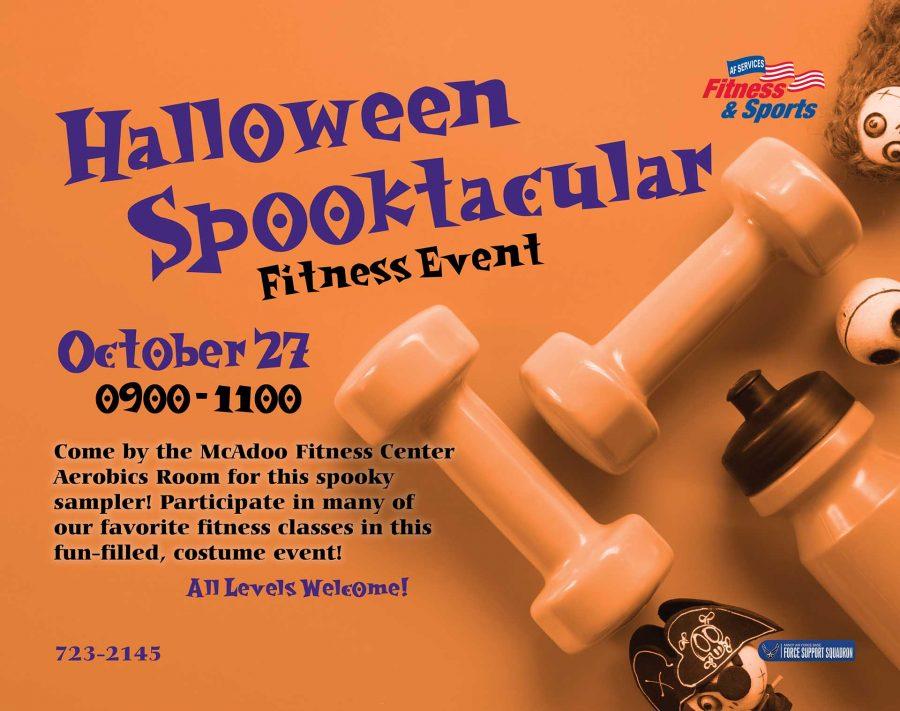 Halloween Spooktacular Fitness Event