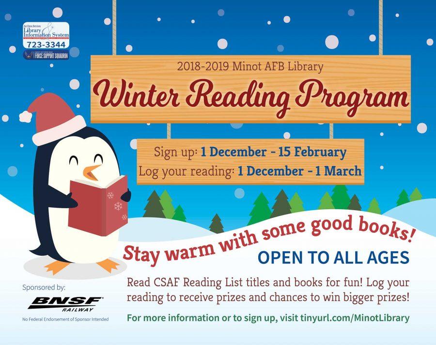 Winter Reading Program begins