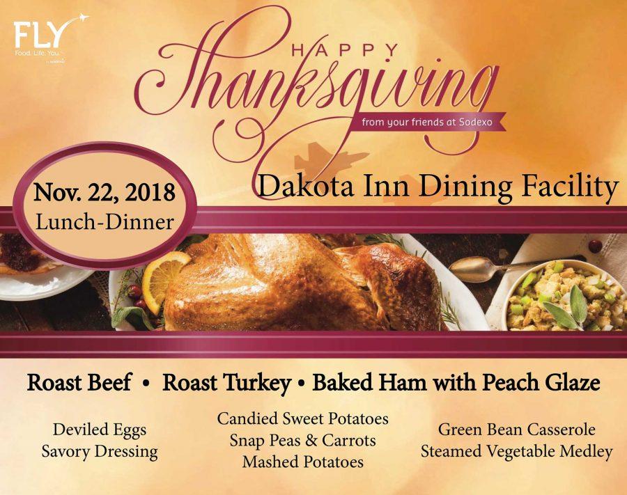 Dakota Inn Thanksgiving Special