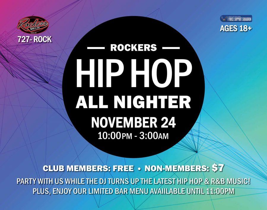Hip Hop All Nighter at Rockers