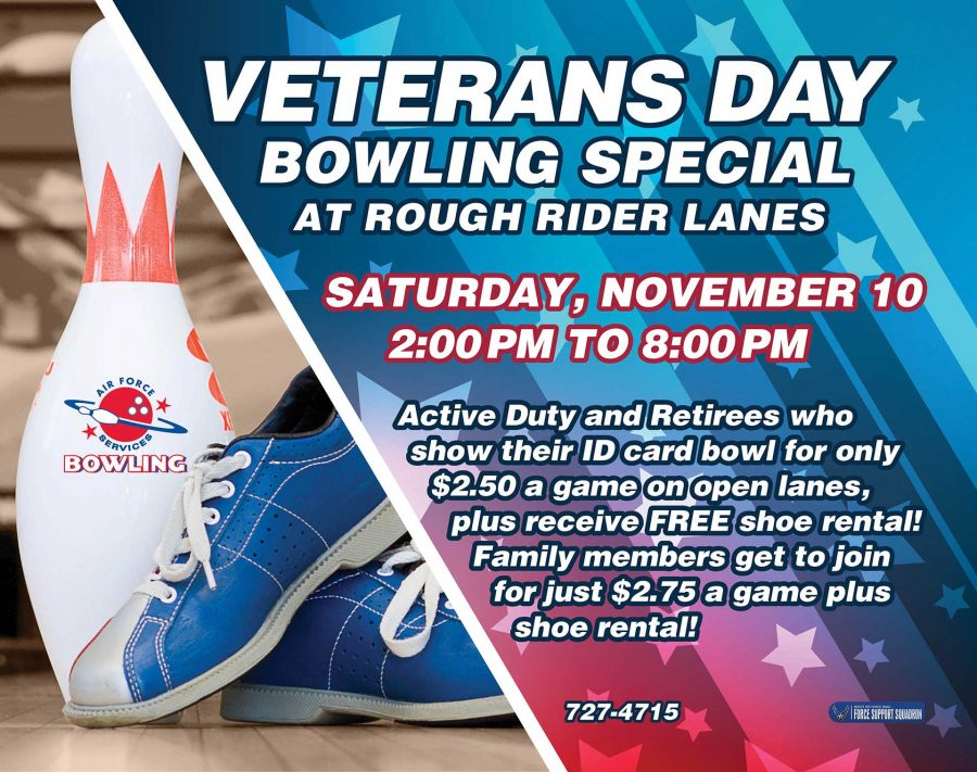 Veterans Day Bowling Special