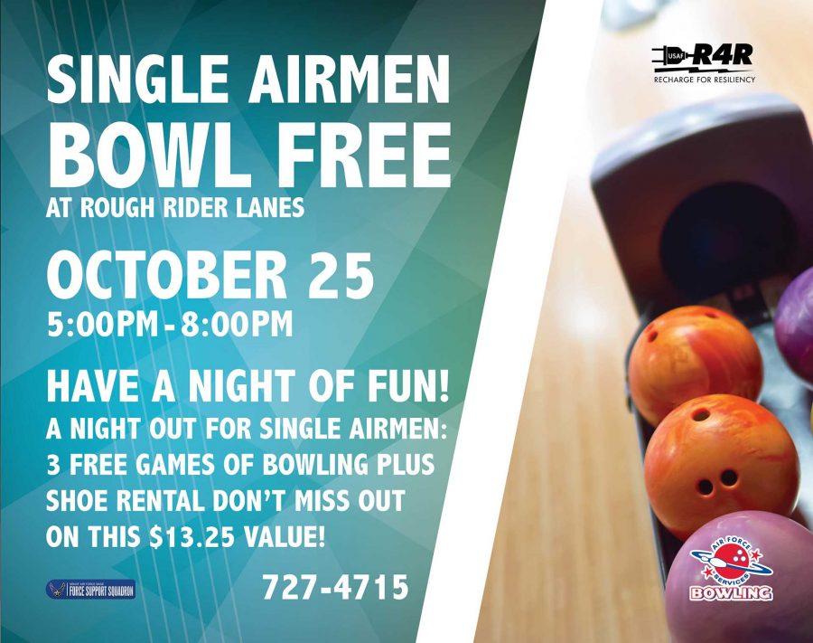 Single Airmen Bowl Free