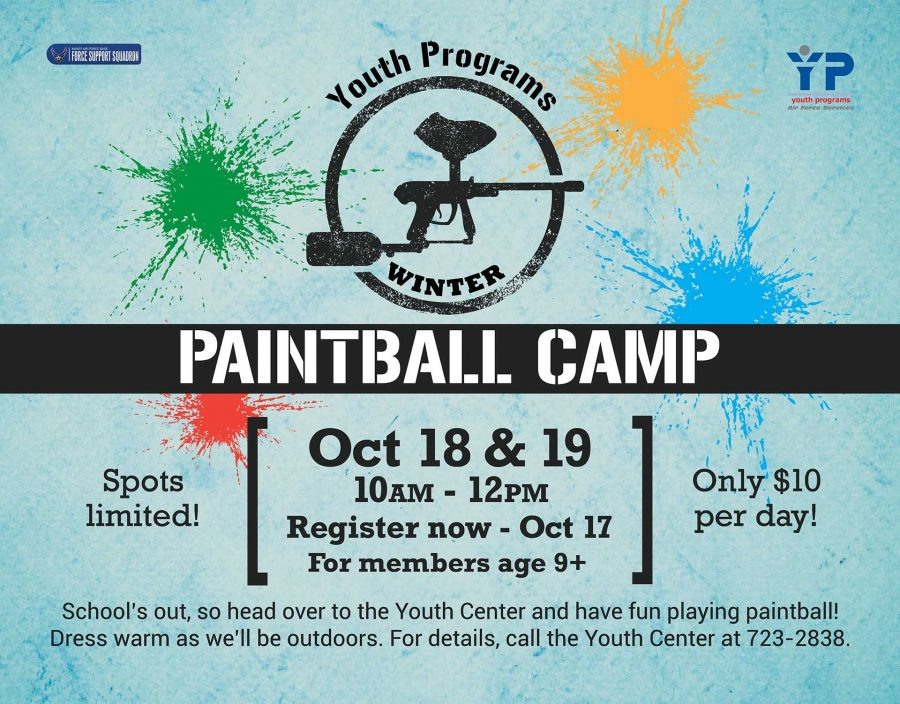 Winter Paintball Camp