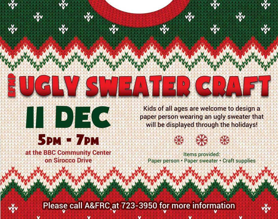 EFMP-FS Ugly Sweater Craft Camp