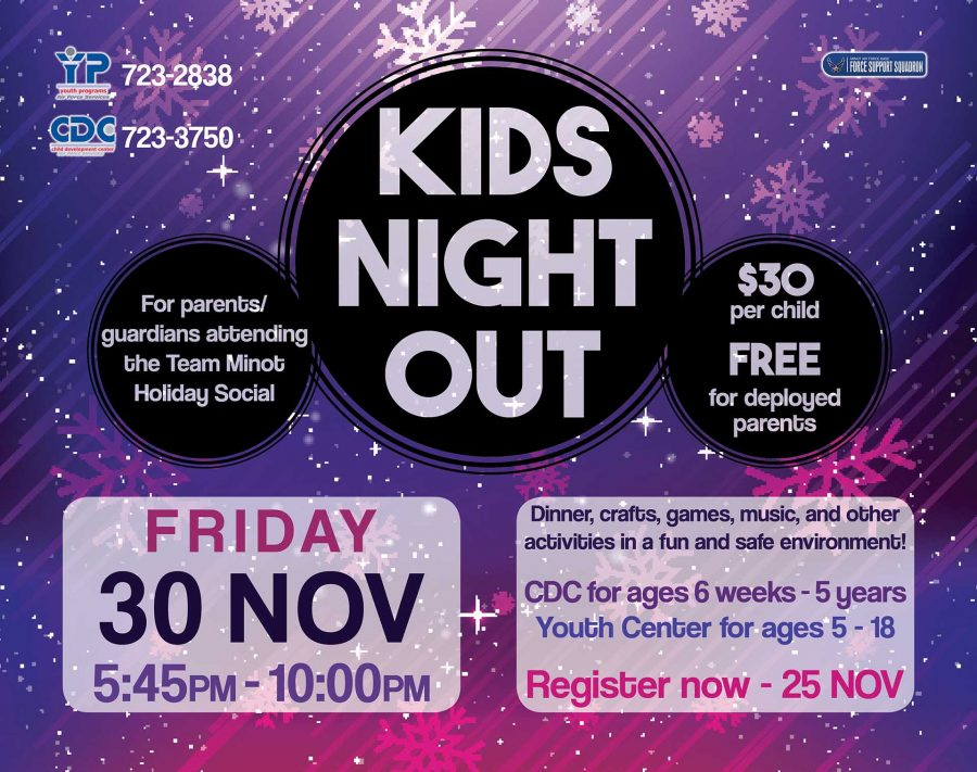 Kids Night Out - Team Minot Holiday Social