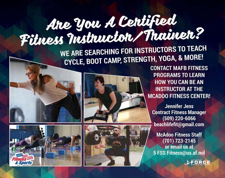 Hiring Group Fitness - May 19 - L