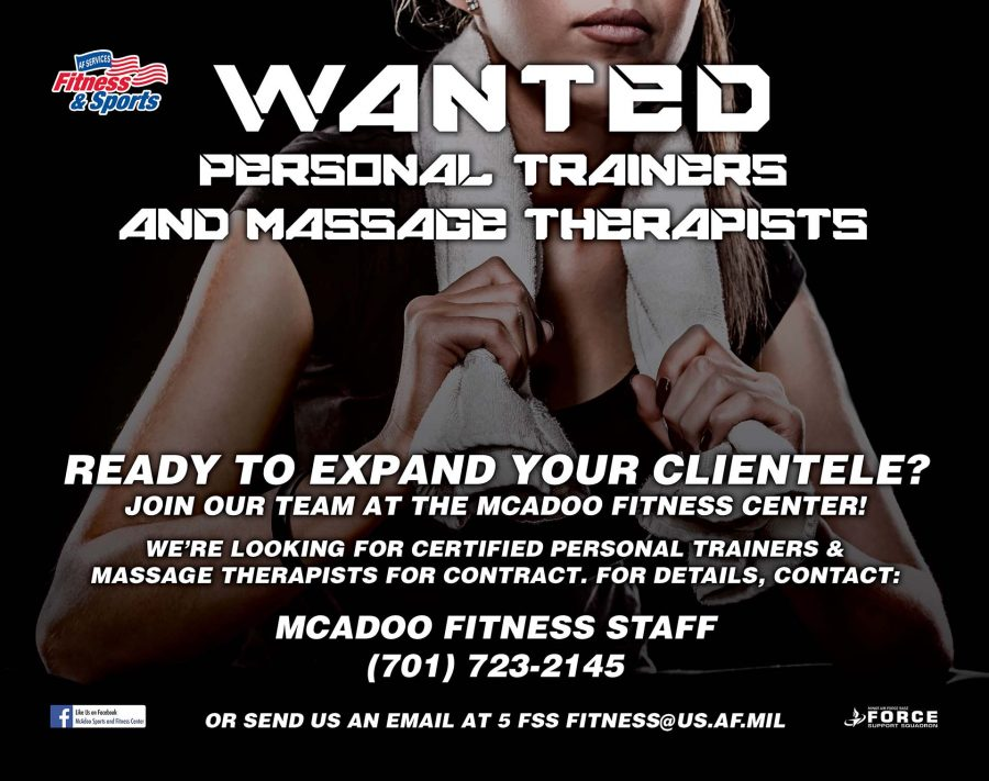 Personal Trainers & Massage Therapists - June 19