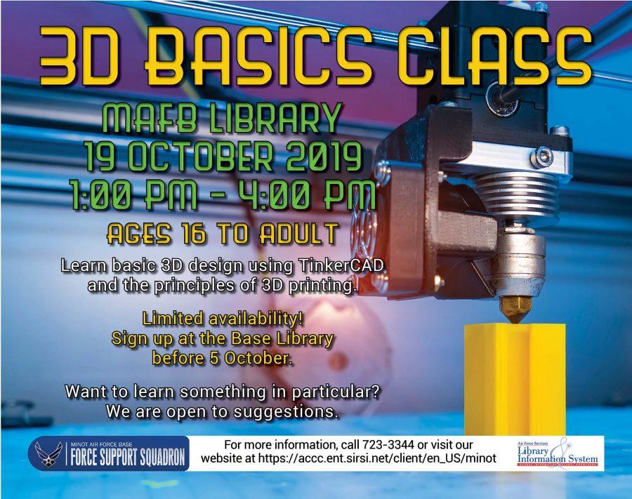 3D Basics Class