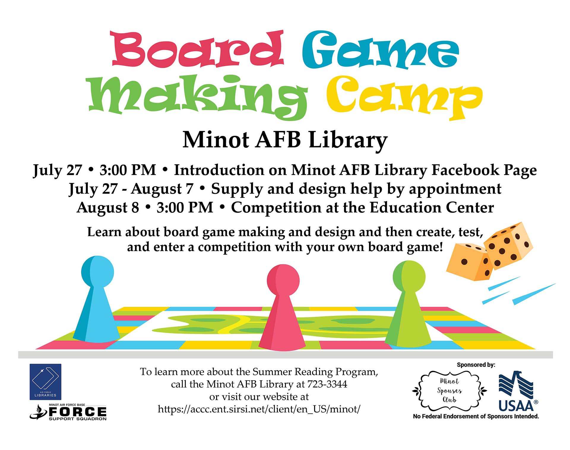 Board Game Making Camp