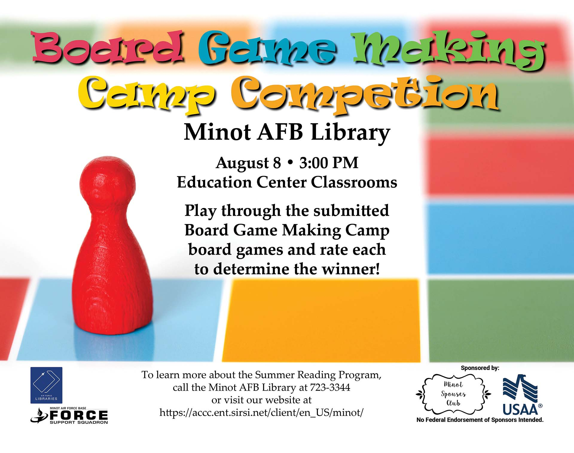 Board Game Making Camp Competition