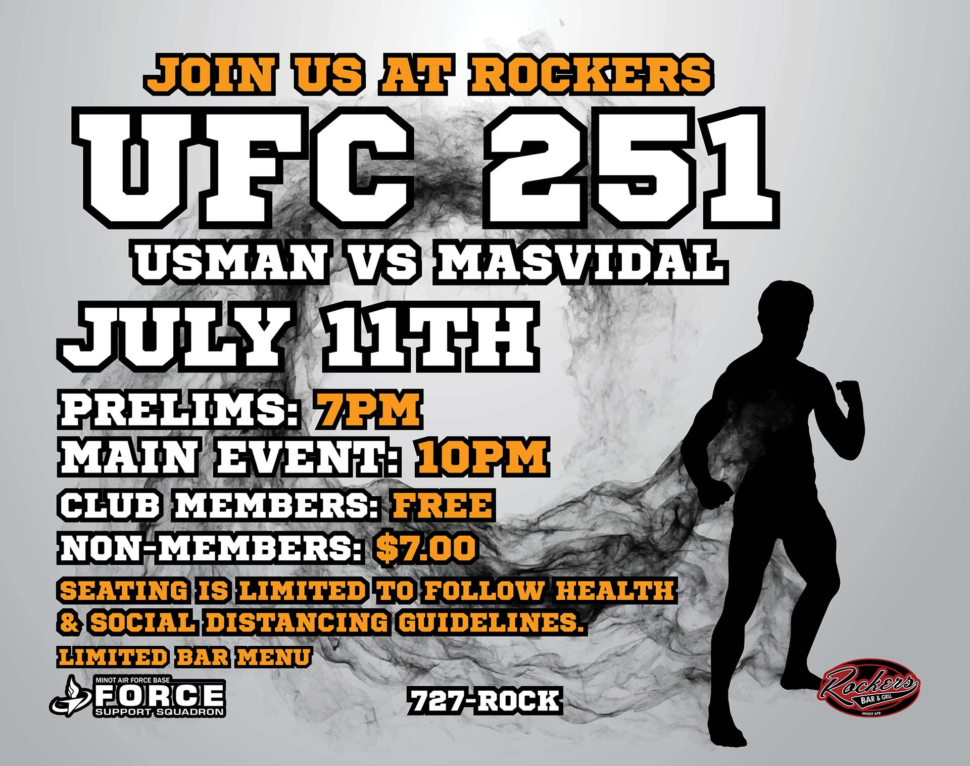 UFC 251 - July 20