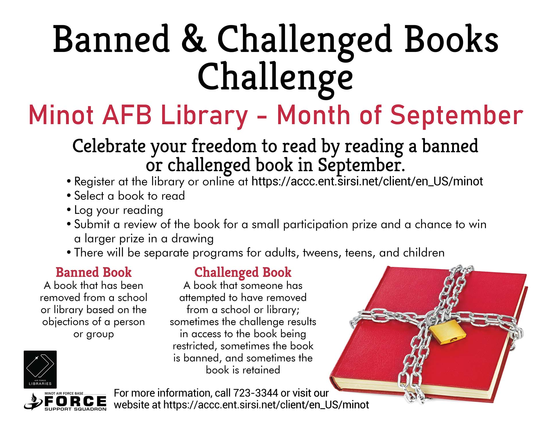 Banned & Challenged Books Challenge Ends