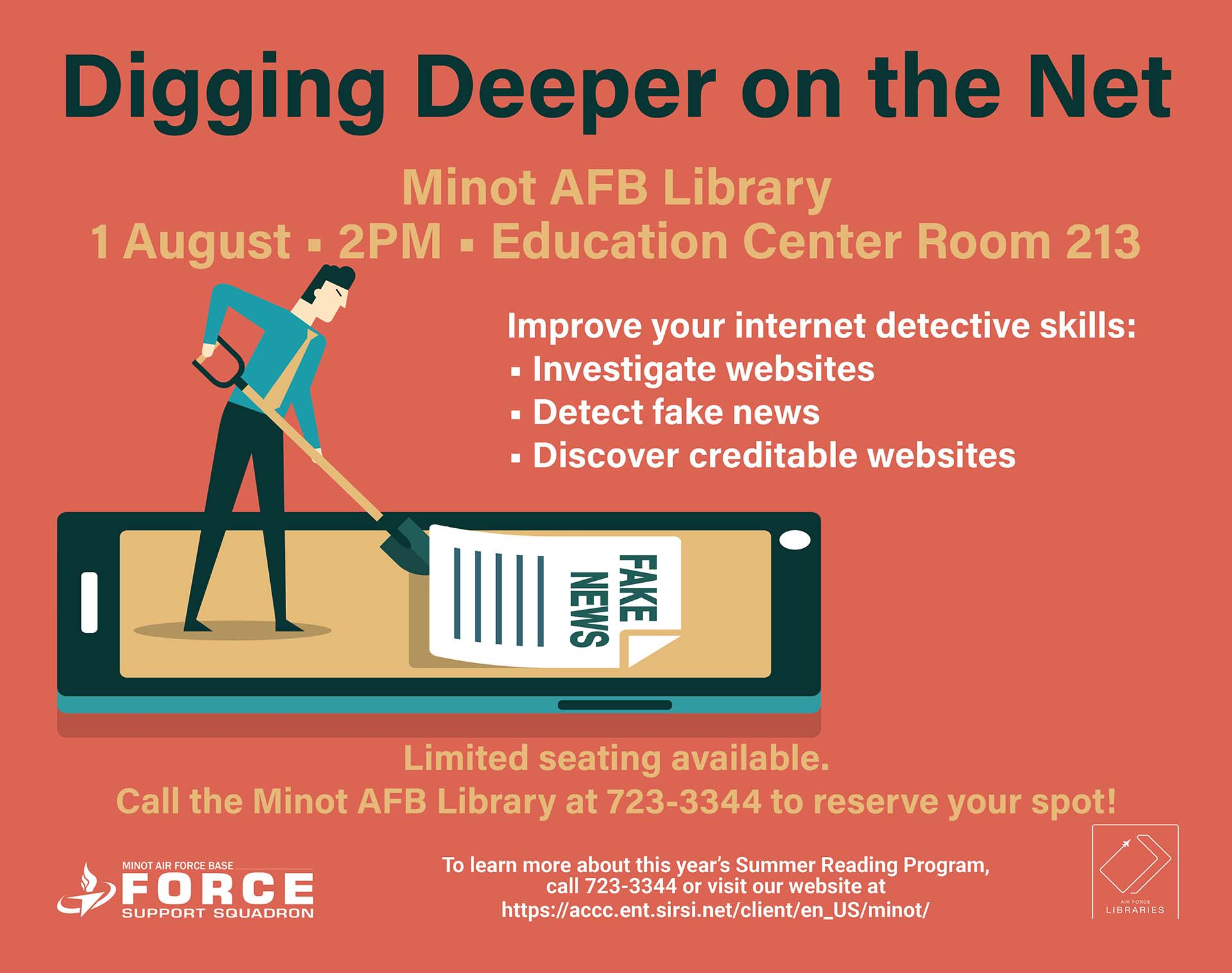 Digging Deeper on the Net