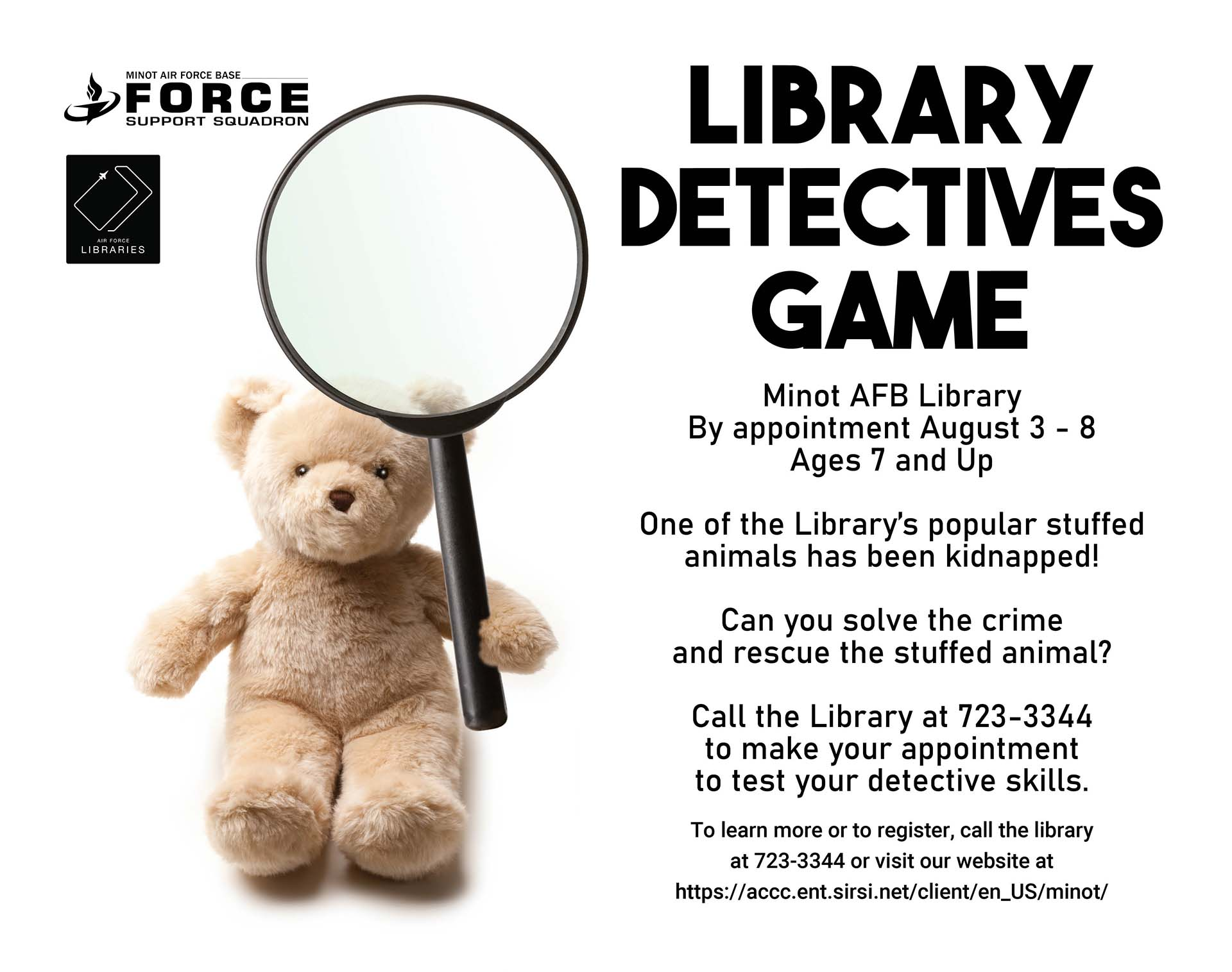 Library Detectives Game