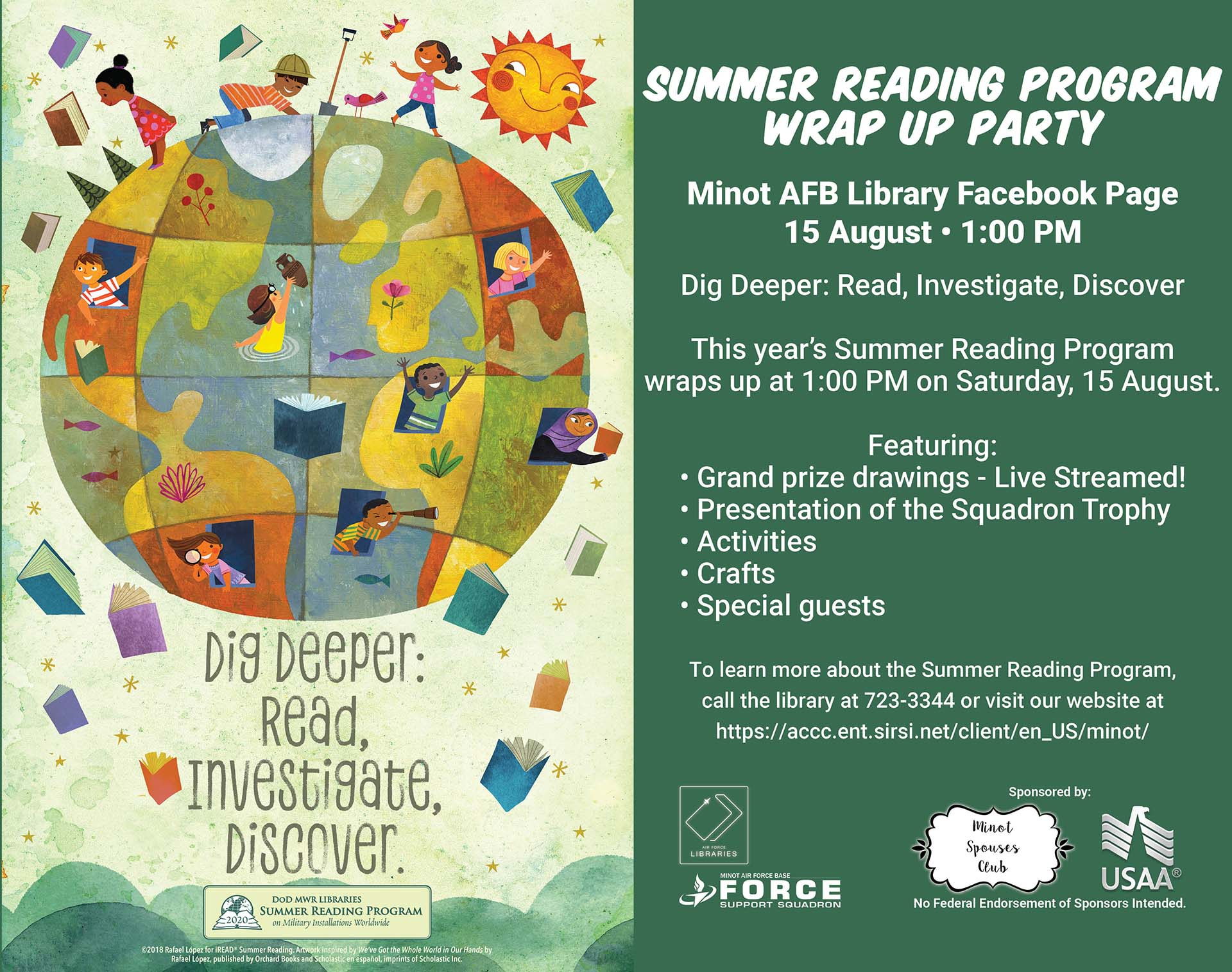 Summer Reading Program Wrap Up Party - ONLINE