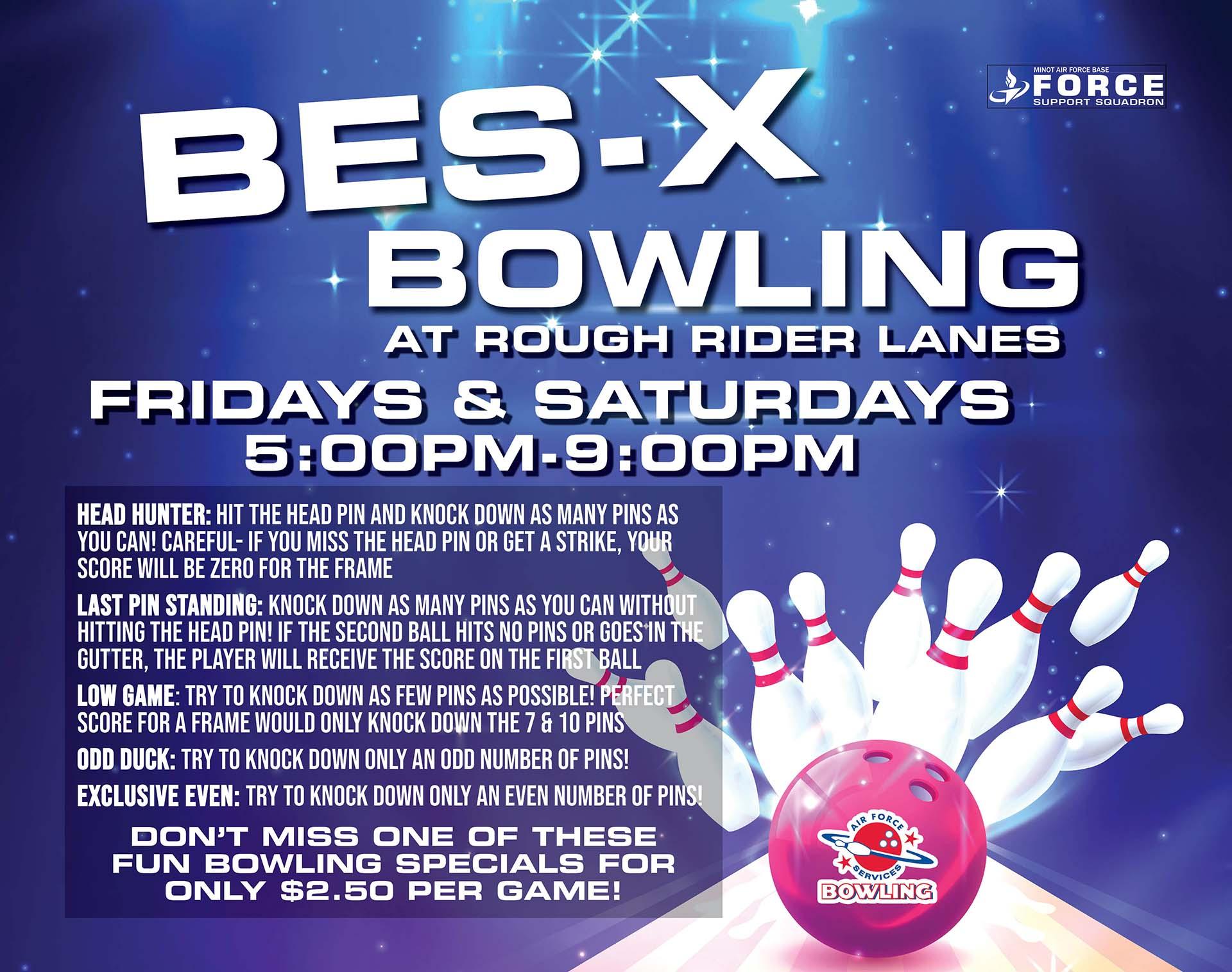 Bes-X Bowling - July 20