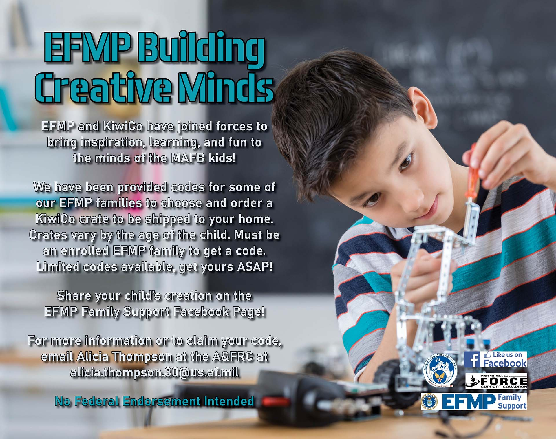 EFMP Building  Creative Minds