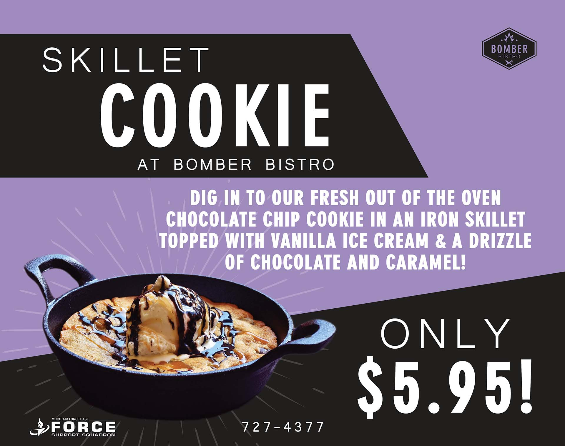 Skillet Cookie - July 20 - Monitor