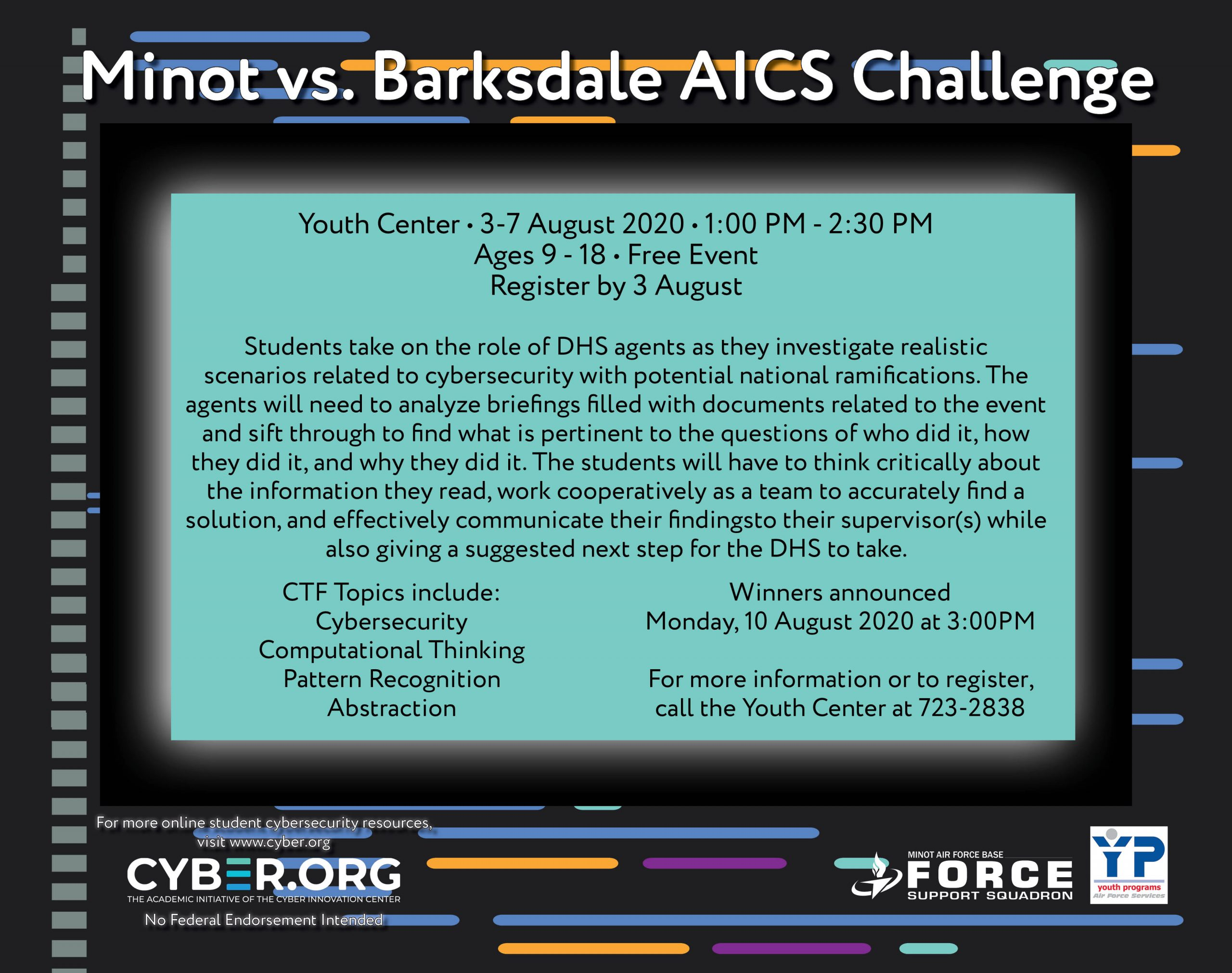 Minot vs. Barksdale AICS Challenge