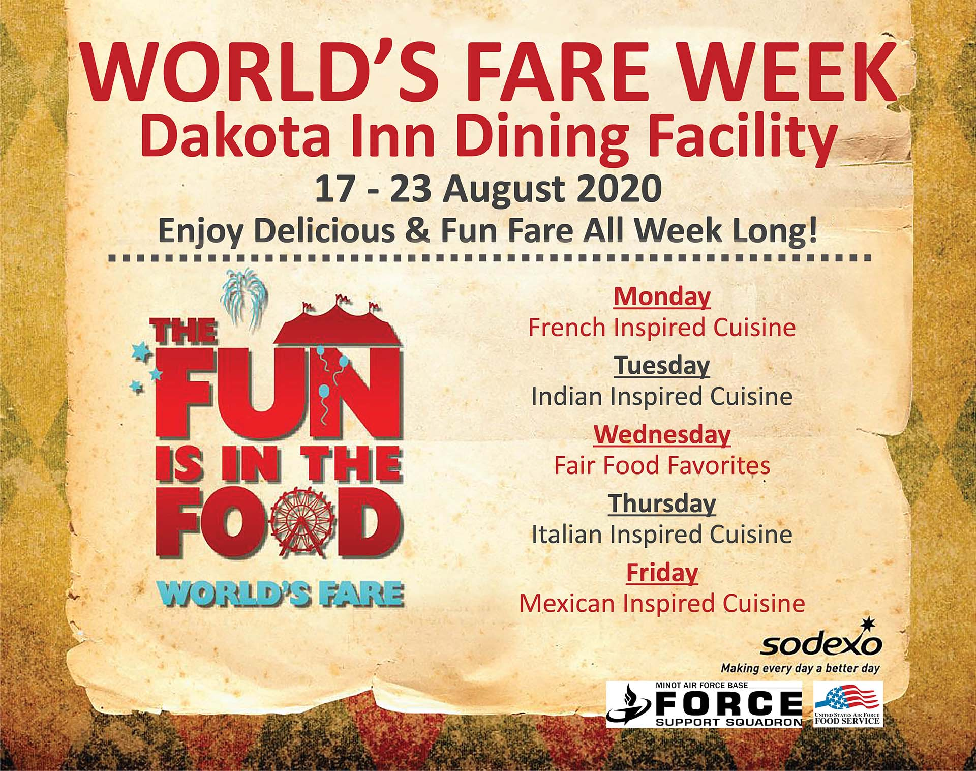 World's Fare Week