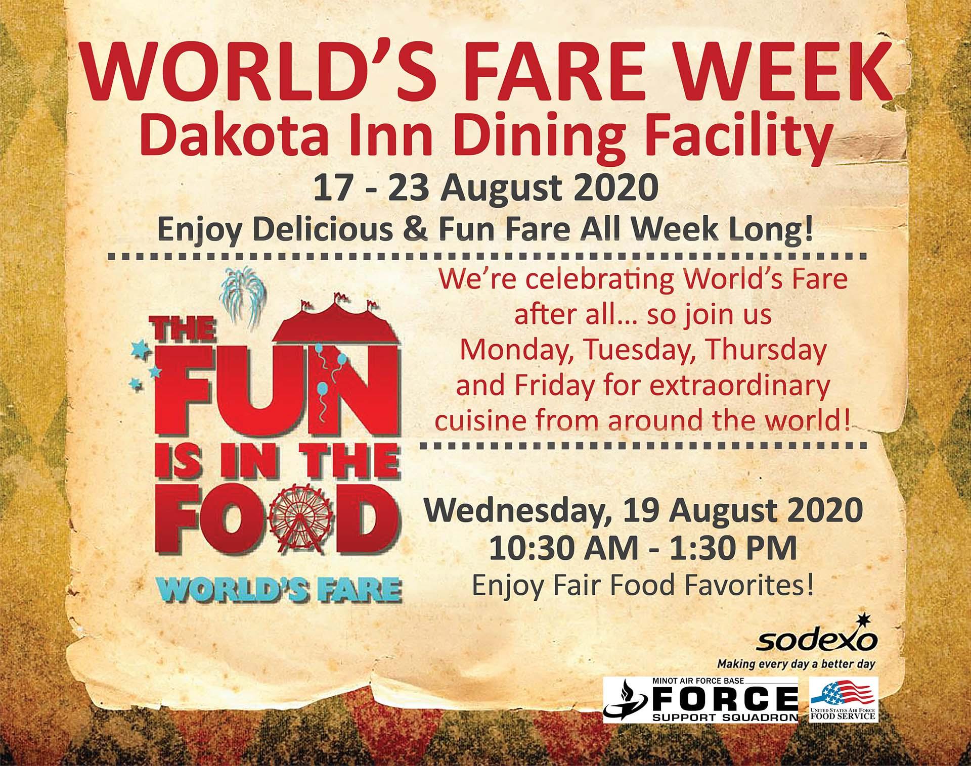 World's Fare Week
