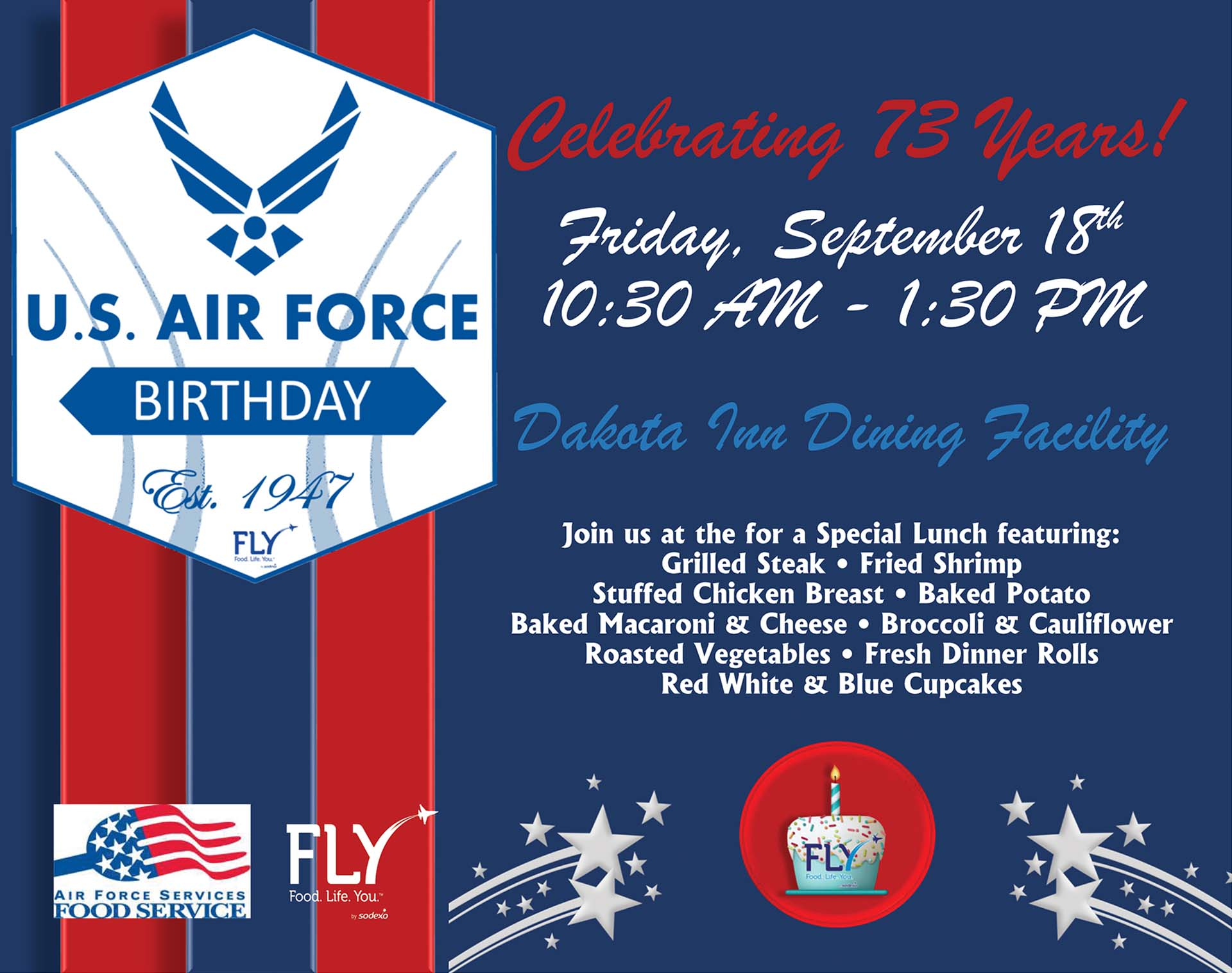 U.S. Air Force Birthday – Special Lunch