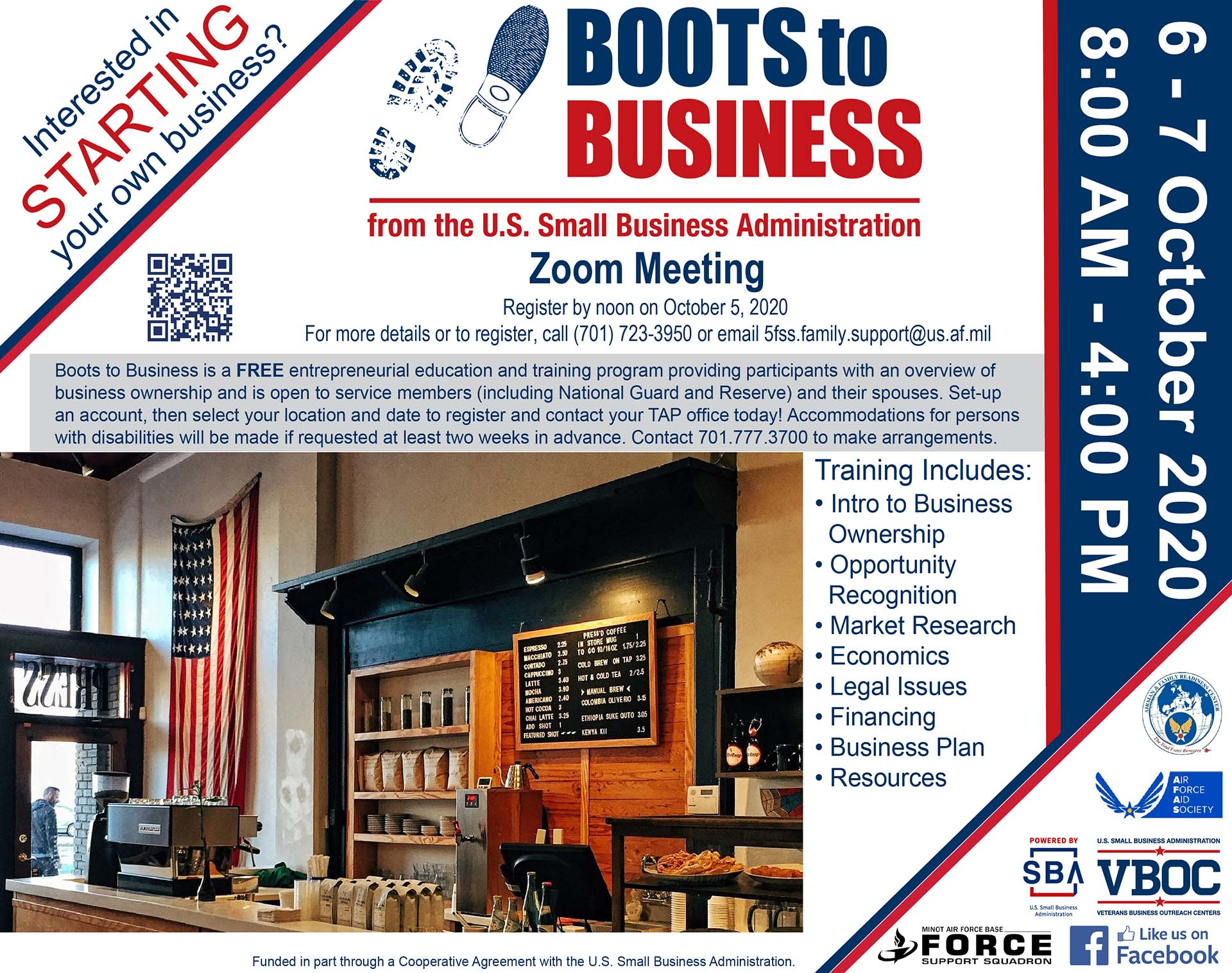 Boots to Business - ONLINE