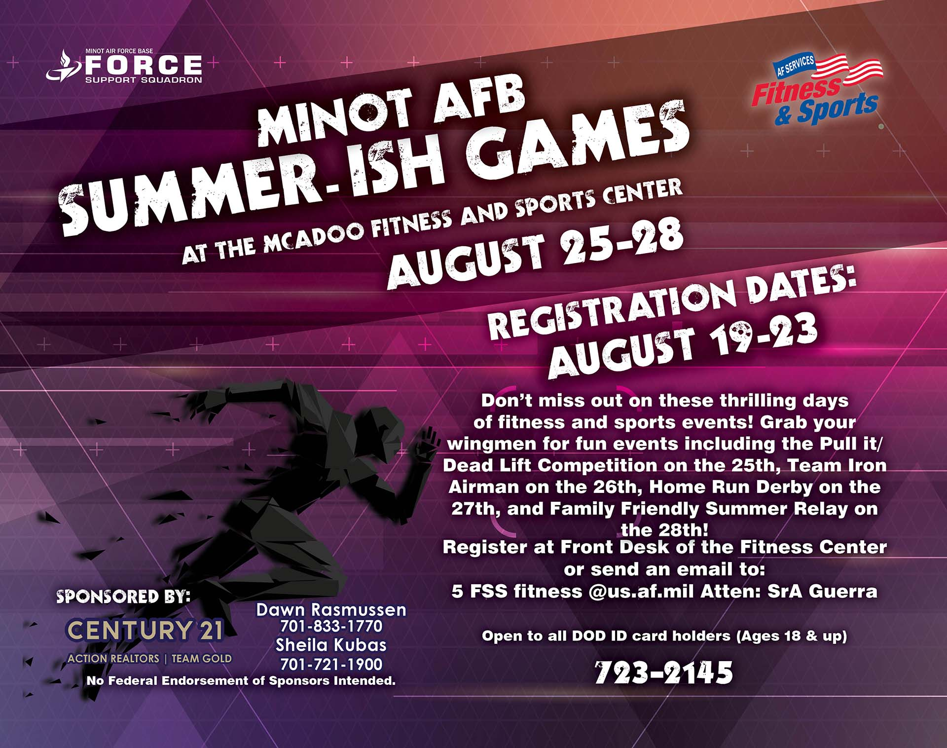Registration Closes: Summer-ish Games