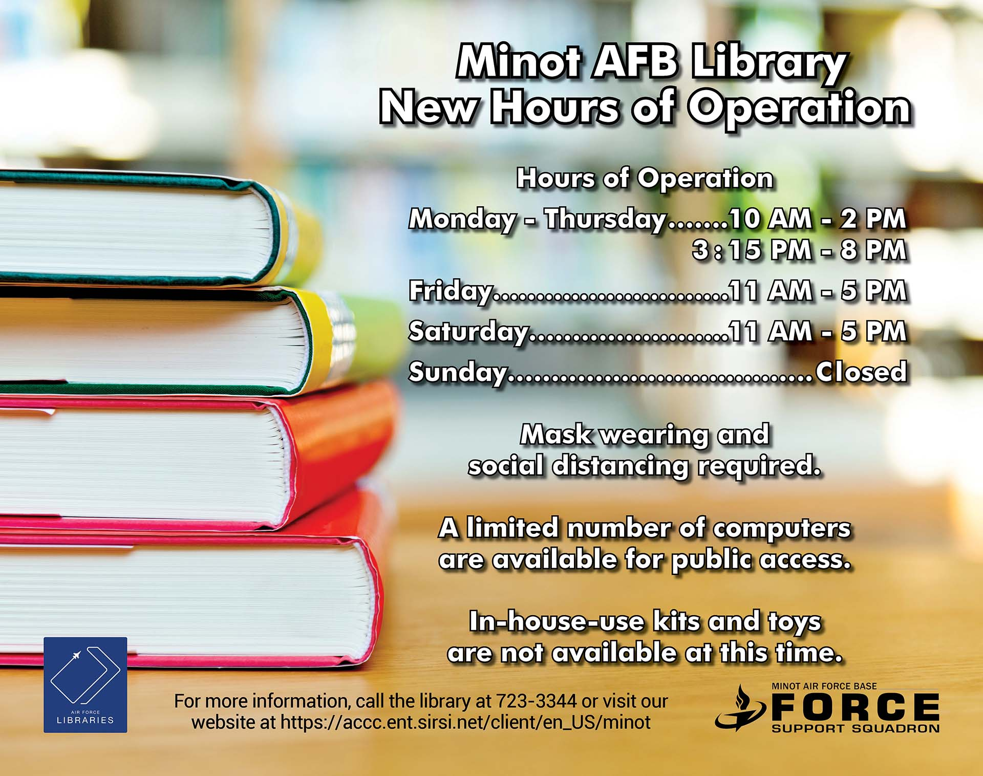 08.31 New Library Hours of Operation