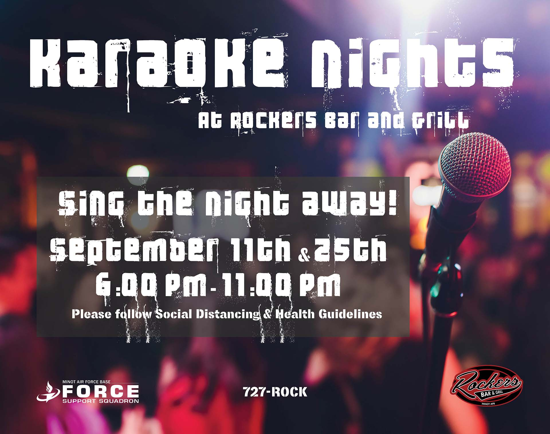 09.25 Rockers Karaoke Night