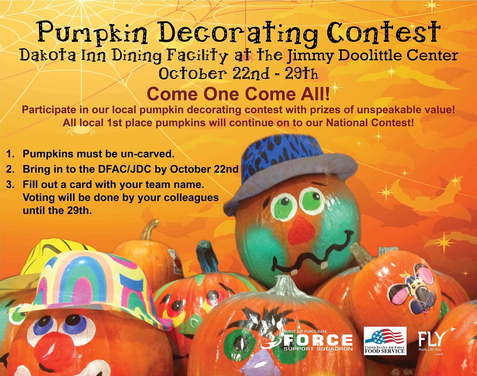 10.22-10.29 Pumpkin Decorating Contest