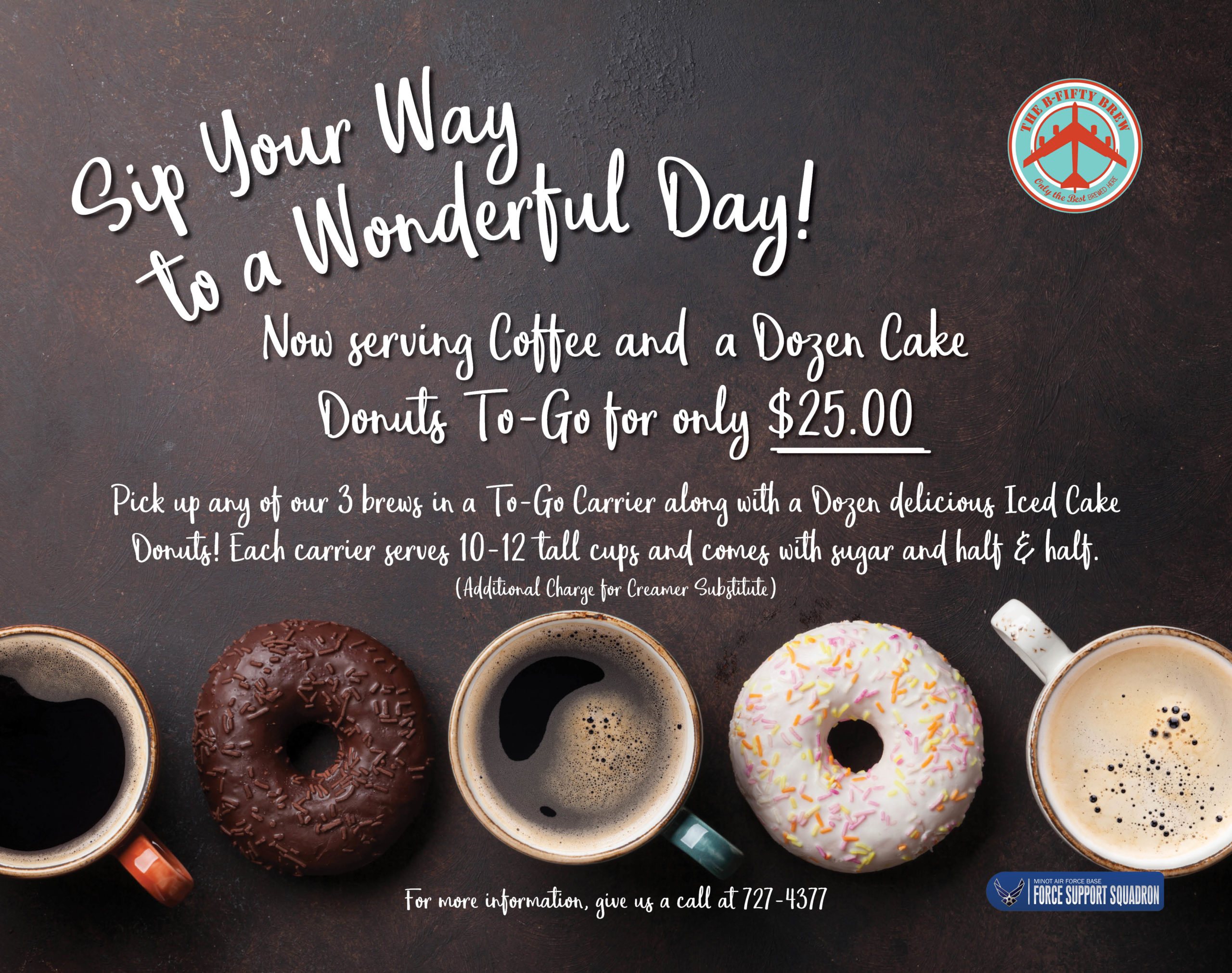 B50 Brew - Coffee and Donuts Special
