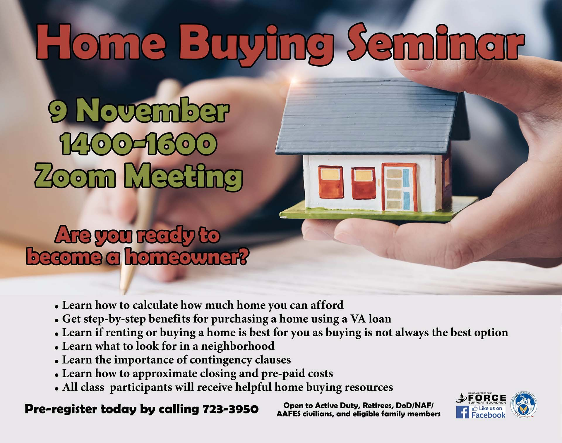 Home Buying Seminar – ONLINE