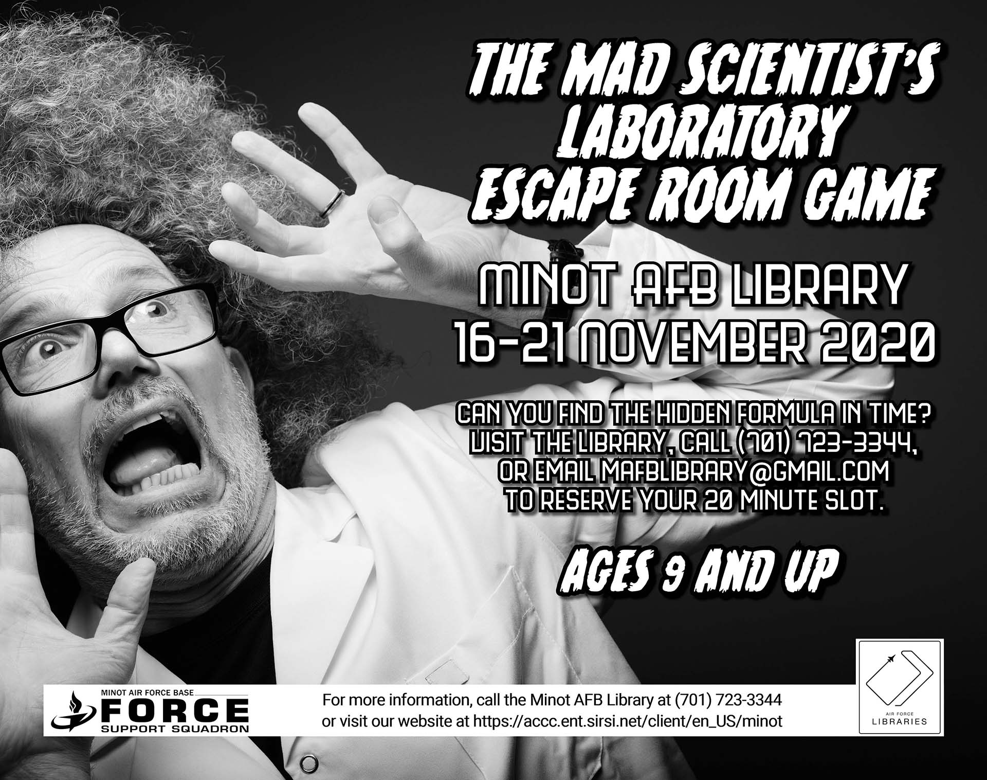 Escape Room Game: The Mad Scientist's Laboratory
