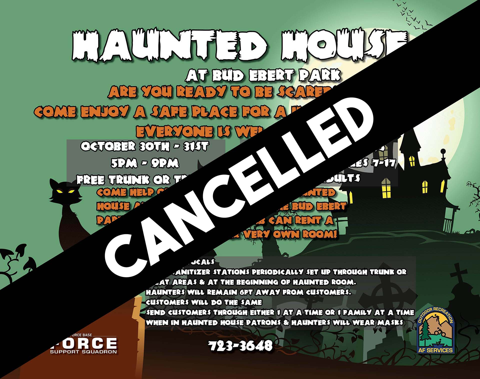 Haunted House - CANCELLED