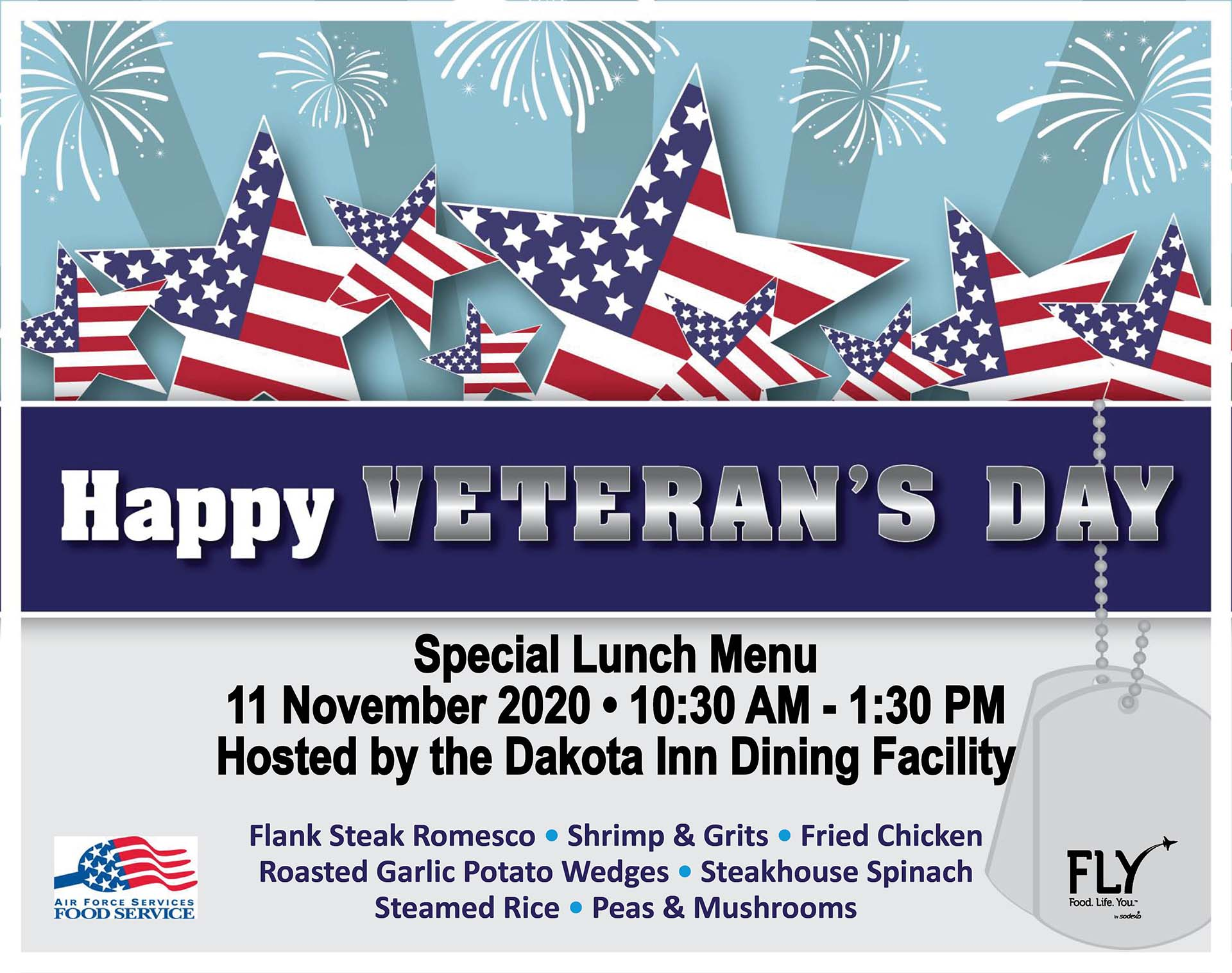 Veterans Day Special Lunch
