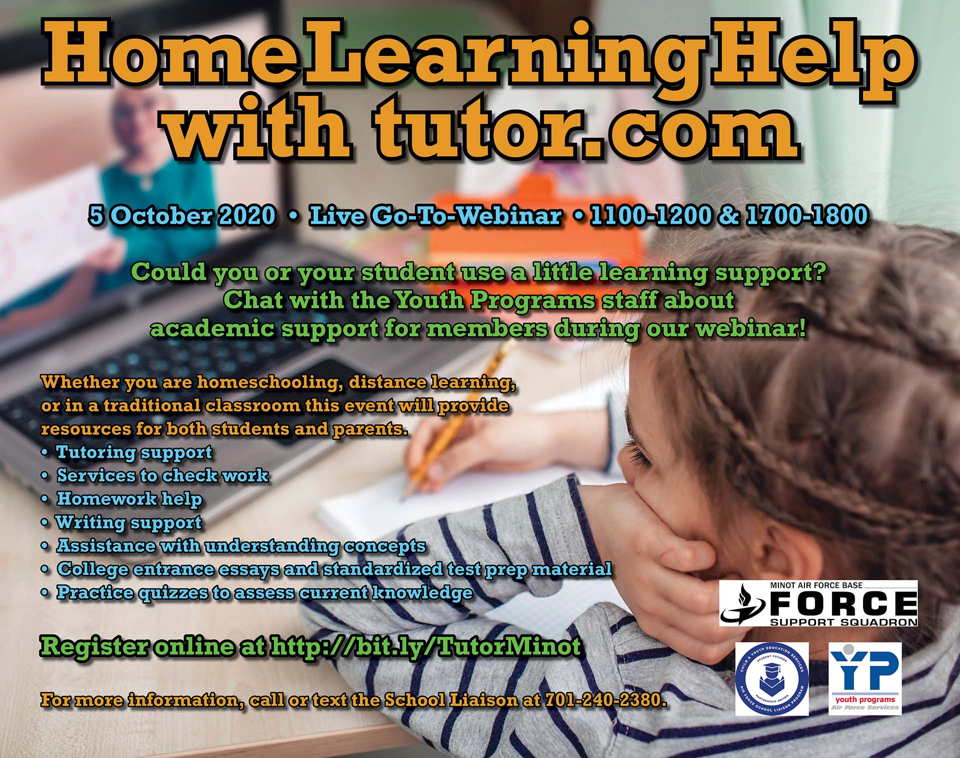 Home Learning Help with tutor.com