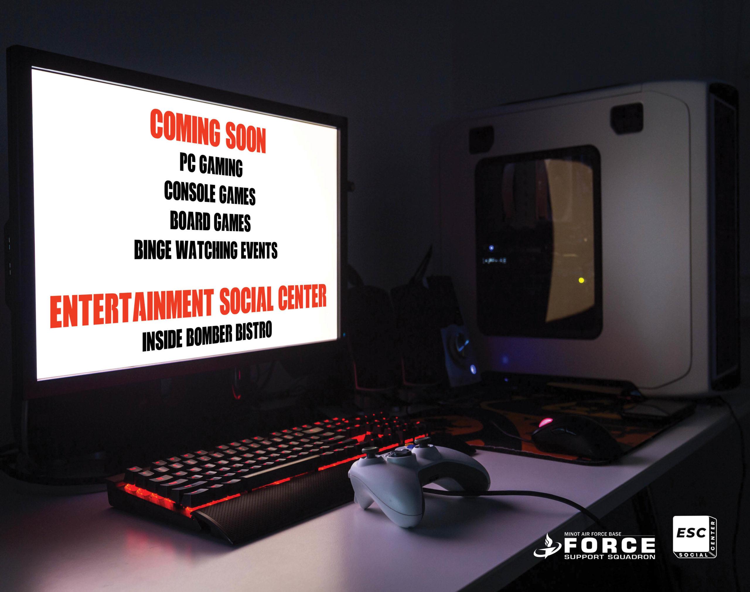 Coming Soon Entertainment Social Center - L