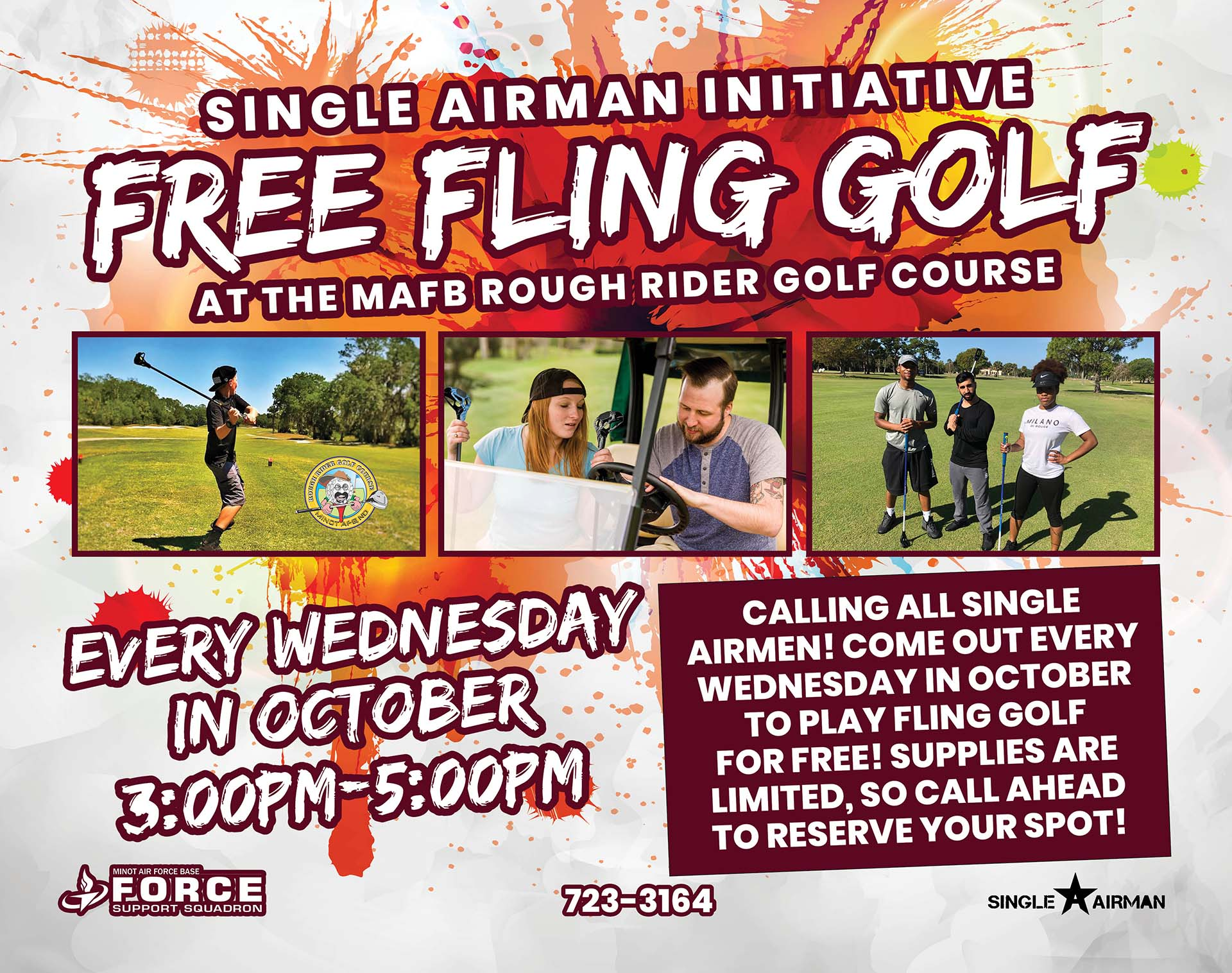 Single Airman Free Fling Golf