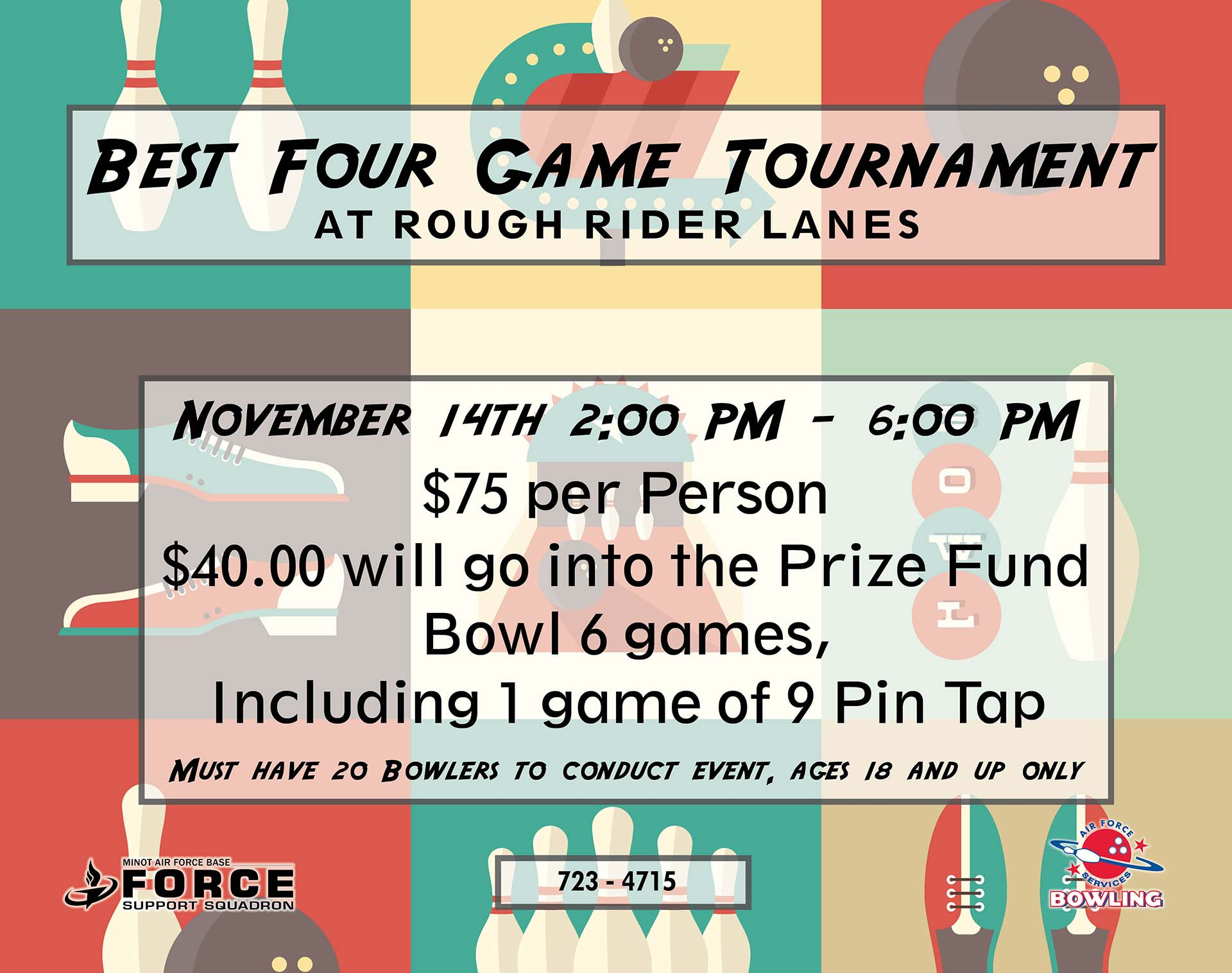 Registration Closes: Best 4 Game Tournament