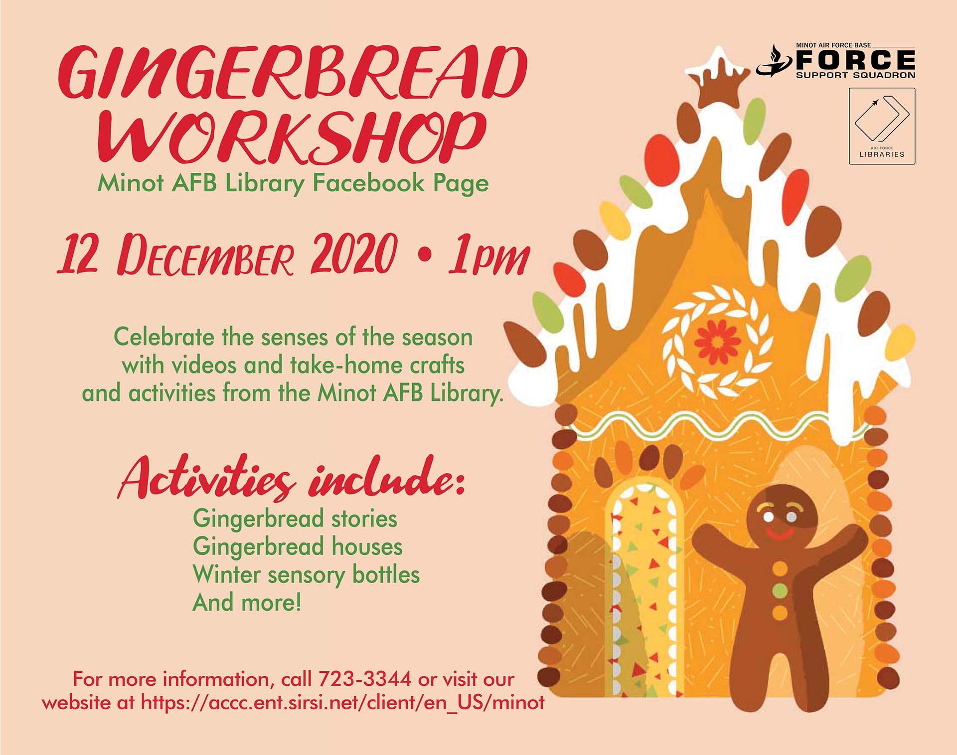 Gingerbread Workshop - ONLINE