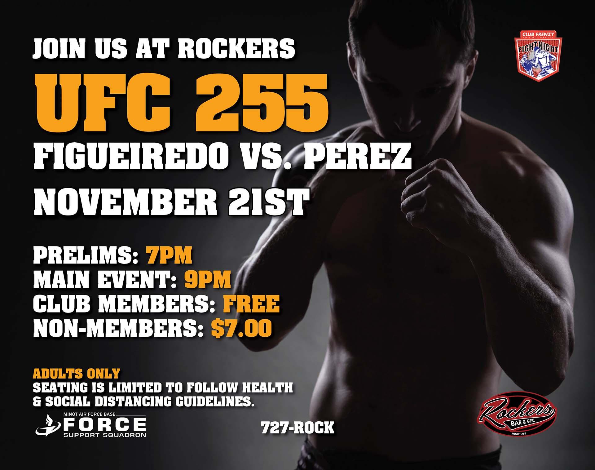 UFC 255: Figueiredo vs Perez - Cancelled