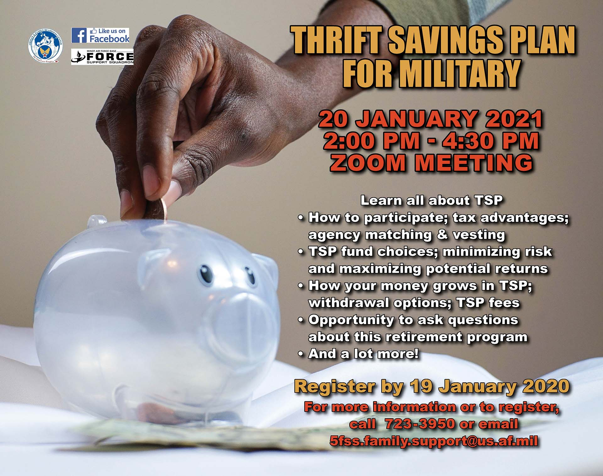 Thrift Savings Plan for Military Members - ONLINE