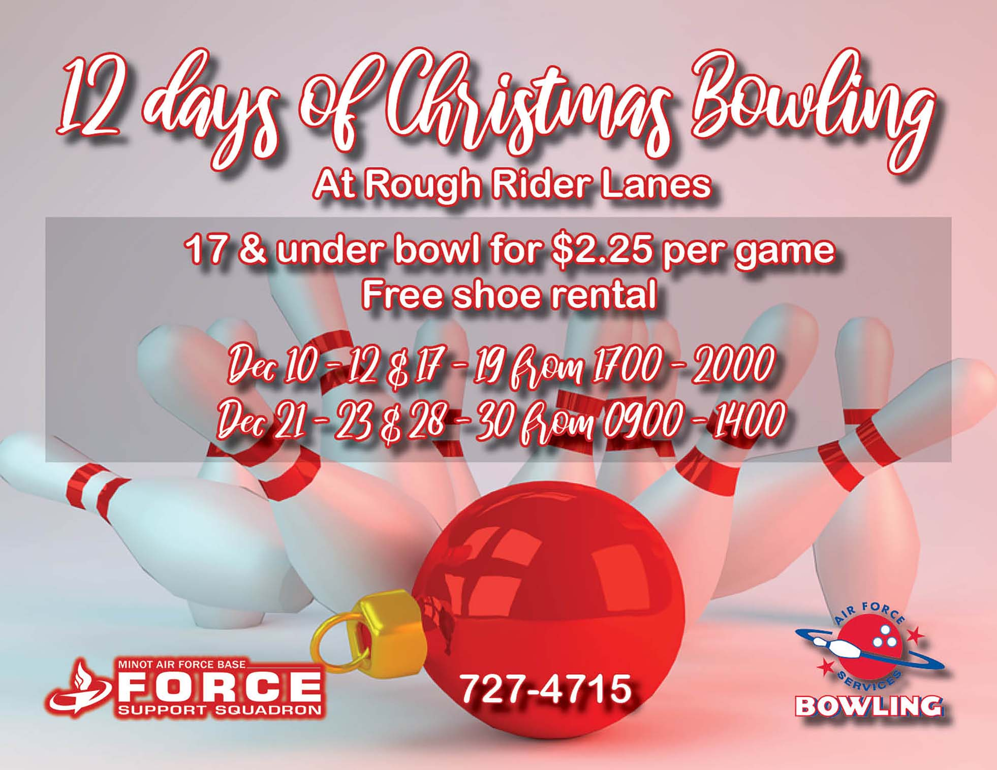 12 Days of Christmas Bowling Special