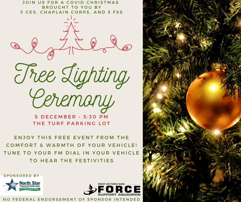 Tree Lighting - minus COVID Christmas