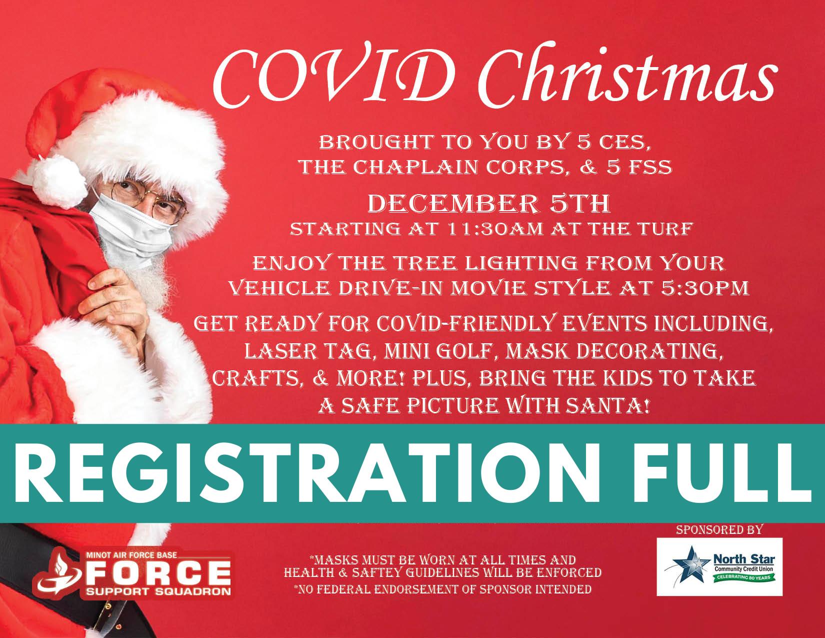 COVID Christmas - Registration Full