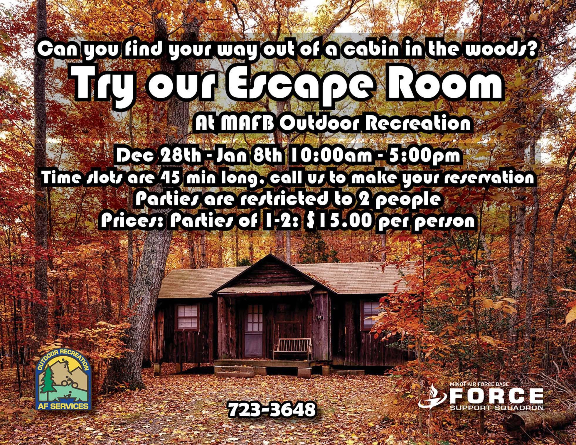 ODR Escape Room- Dec 2020